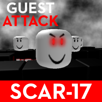 [SCAR-17] GUEST ATTACK!
